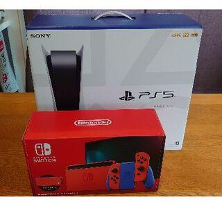 SONY - 【2/25発送可能】SONY PlayStation5 & Switch マリオ
