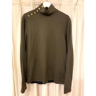 ヤブヤム(YAB-YUM)のヤブヤム OPEN NECK TURTLE (KHAKI)(Tシャツ/カットソー(七分/長袖))