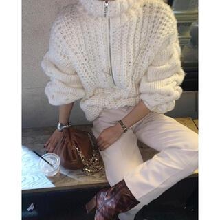 SeaRoomlynn - Searoomlynn Handmade zipper knit WHITE