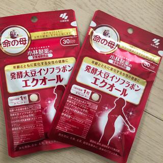 小林製薬 - 新品 未開封 小林製薬 命の母 発酵大豆イソフラボン エクオール約30日分 2袋