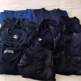 野球 紺色系アンダーシャツ ジュニアサイズ まとめ売り 140.150.160
