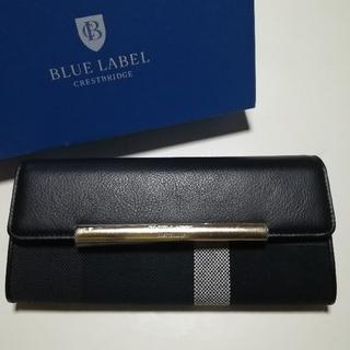 BURBERRY BLUE LABEL - ブルーレーベルクレストブリッジ 長財布