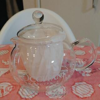 ロクシタン(L'OCCITANE)のL'OCCITANE ロクシタン 耐熱ティーポット 茶漉し付き(グラス/カップ)