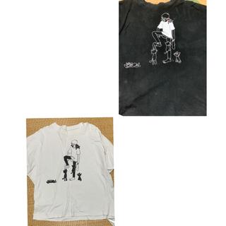 LEVEL3 キヨ猫Tシャツ 白 (Tシャツ(半袖/袖なし))
