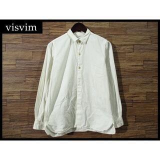 ヴィスヴィム(VISVIM)のvisvim ビズビム FIL 限定 WOOD釦 ロング ライダー シャツ S(シャツ)