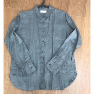 UNIQLO - [新品未使用] UNIQLO リネンシャツ