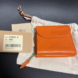 イルビゾンテ(IL BISONTE)の【新品未使用】イルビゾンテ コンパクト財布 c0554(財布)