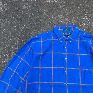 リーバイス(Levi's)のLevi's シャツ チェックシャツ ブルー(シャツ)