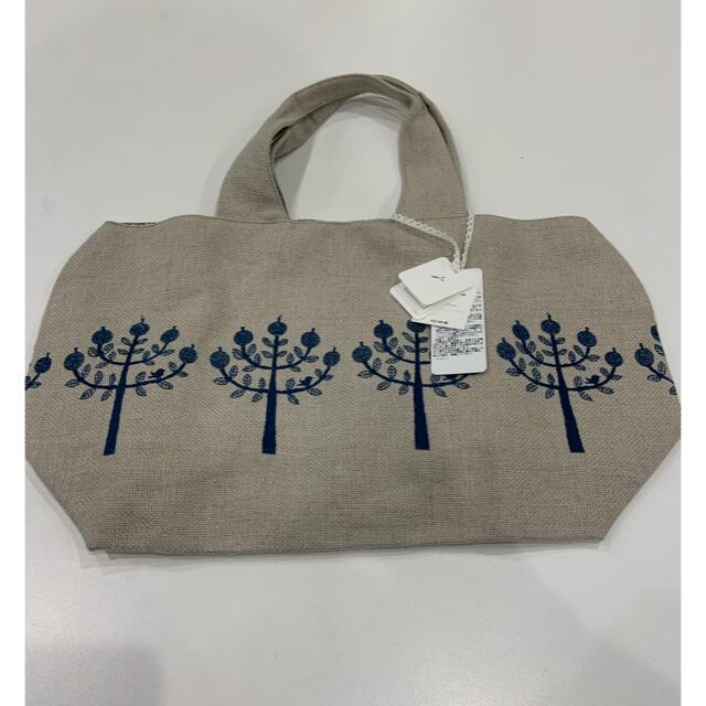 mina perhonen(ミナペルホネン)のミナペルホネン  パニーニパッグ ringo  新品 レディースのバッグ(トートバッグ)の商品写真