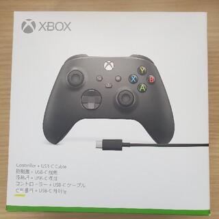 エックスボックス(Xbox)のXbox ワイヤレス コントローラー + USB-C ケーブル(家庭用ゲーム機本体)