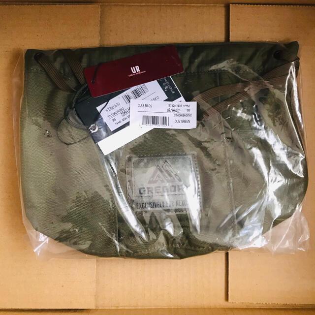 NEXUSVII(ネクサスセブン)のNEXUSⅦ.  GREGORY CINCH BAG NX ネクサスセブン  メンズのバッグ(ショルダーバッグ)の商品写真