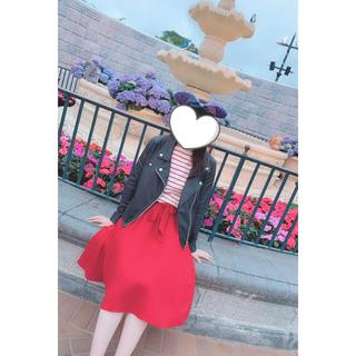 【値下げ】TRALALA. 赤スカート