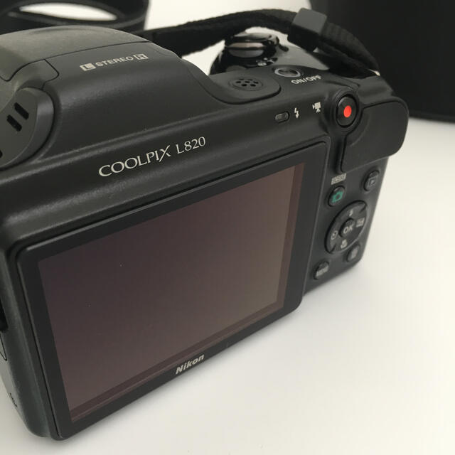 Nikon(ニコン)のNikon COOL PIX L820  4GB SDカード付き スマホ/家電/カメラのカメラ(コンパクトデジタルカメラ)の商品写真