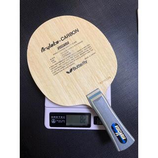 ビスカリア バタフライ 卓球 ラケット フレア 82g