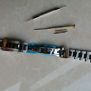 ☆  極美品 汎用 ロレックスメタル バンド  20mm  工具付き