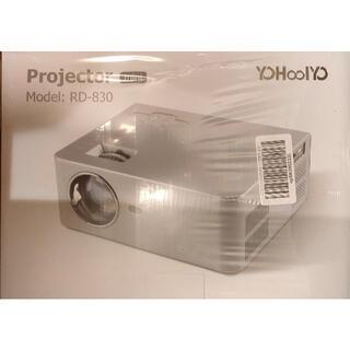 YOHOOLYO プロジェクター 1080PフルHD対応 5500lm(プロジェクター)