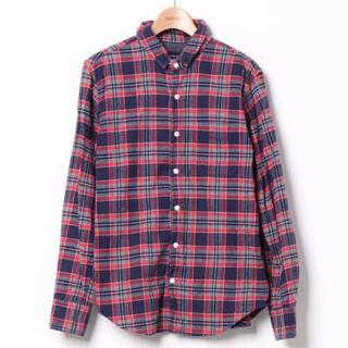 シップスジェットブルー(SHIPS JET BLUE)の美品★SHIPS JET BLUE チェックシャツ/S(シャツ)