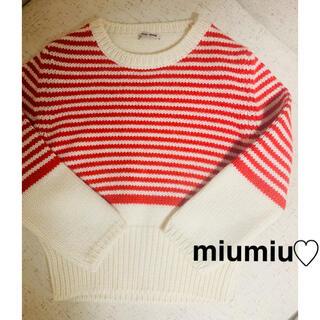 miumiu - miumiu♡ ニット