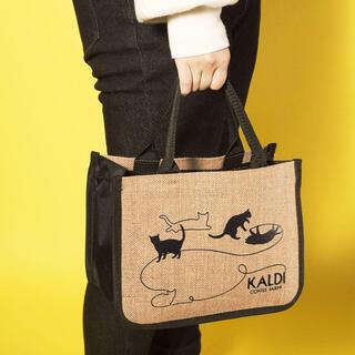 カルディ(KALDI)の【新品】カルディ ネコの日バッグ2021 バッグ単品&カレンダー(トートバッグ)