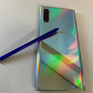 SAMSUNG - Galaxy Note 10 5G Aura Glow 256GB SIMフリー