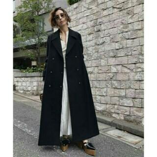 Ameri VINTAGE - AMERIVINTAGE BELT FLARE LONG COAT