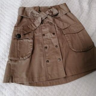 アルシーヴ(archives)のアルシーヴ トレンチスカート ボタン欠品(ミニスカート)
