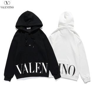 VALENTINO - 901☆バレンチノvalentino☆2枚12000円ロゴパーカー男女兼用