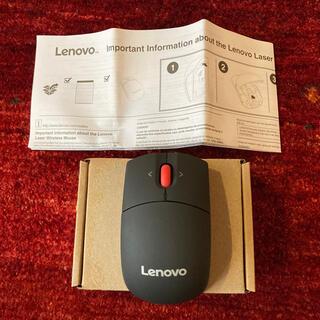 レノボ(Lenovo)のレノボ ワイヤレス・レーザーマウス 0A36188 新品未開封 #1(PC周辺機器)