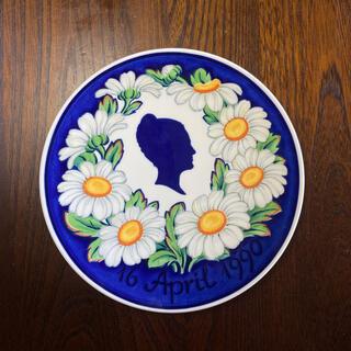 ロイヤルコペンハーゲン(ROYAL COPENHAGEN)のロイヤルコペンハーゲン メモリアルプレート 女王マルグレーテ2世 飾り皿(置物)