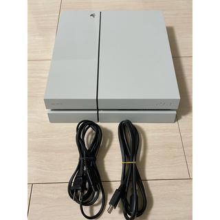 プレイステーション4(PlayStation4)のプレステ4本体ホワイト(家庭用ゲーム機本体)