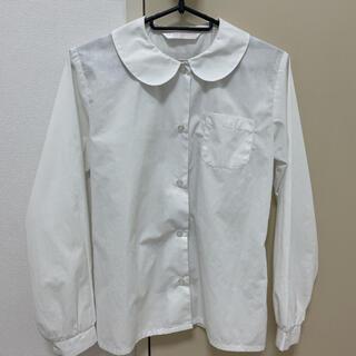 スクールシャツ 丸襟 ブラウス