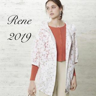 ルネ(René)の新品未使用 Rene♡ 2019年 DM掲載イタリー製フラワーレース刺繍フーディ(ブルゾン)