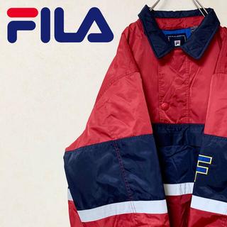 フィラ(FILA)のFILA フィラ 90年代 ナイロンジャケット ビッグサイズ  激レア 美品(ナイロンジャケット)