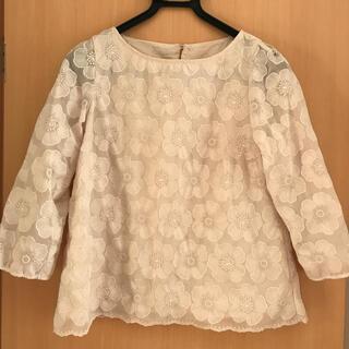anatelier - アナトリエ 38 M 袖透かし刺繍 七分袖