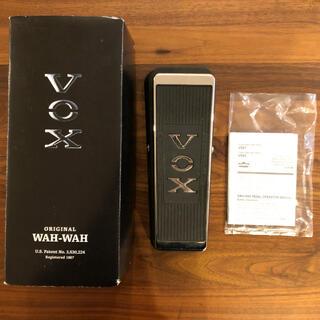 ヴォックス(VOX)のVOX ORIGINAL WAH V847-A(エフェクター)