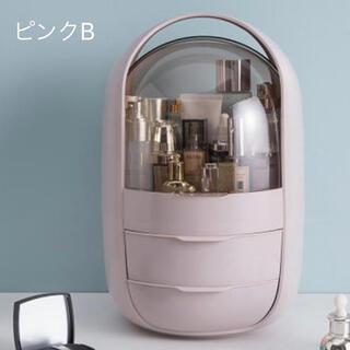 2021新入荷 高級品質 化粧品 防塵 防塵 家庭用  化粧道具入れ 大容量(メイクボックス)