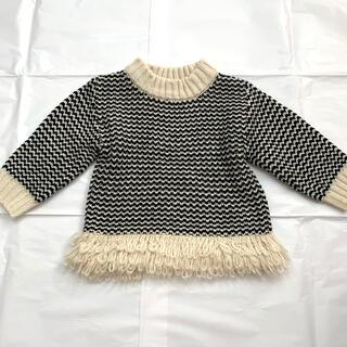 petit main - プティマイン セーター 90