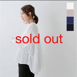 ヴェリテクール(Veritecoeur)のmizuiro ind/ バックギャザーワイドシャツ(シャツ/ブラウス(長袖/七分))