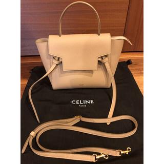 celine - CELINE BELT NANO  セリーヌ ナノサイズ ベルトバック