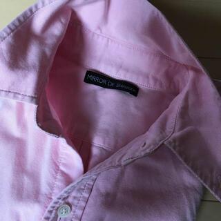 シンゾーン(Shinzone)のシンゾーン  ピンクシャツ(シャツ/ブラウス(長袖/七分))