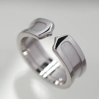 Cartier - 質屋出品kl Cartier カルティエ K18WG C2リング 50号 保証書