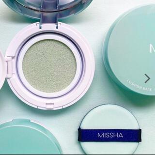 MISSHA - 週MISSHA クッションベースCICAケア ミントグリーン