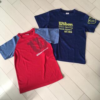 ウィルソン(wilson)の【値下げ価格】Tシャツ wilson 150(Tシャツ/カットソー)
