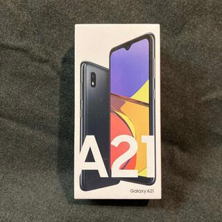 Galaxy - 新品 Galaxy A21 アンドロイド スマートフォン simフリー 残債無し