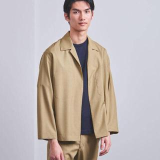 1LDK SELECT - オーラリー ウールシルクトロピカルシャツジャケット