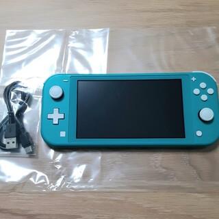 Nintendo Switch - Nintendo Switch Lite ターコイズ 本体 スイッチライト