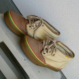 ヴァンズ(VANS)のBad Brains×VANS  チャッカブーツ 激レア 約27cm(ブーツ)
