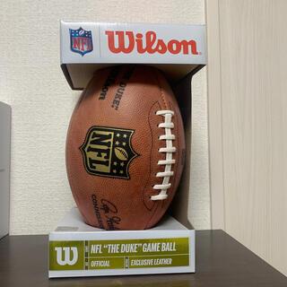 """ウィルソン(wilson)のウィルソン NFL """"THE DUKE"""" 公式球(アメリカンフットボール)"""