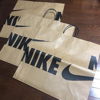 NIKE - 3枚セット ナイキ NIKEショップバック紙袋ショッパー