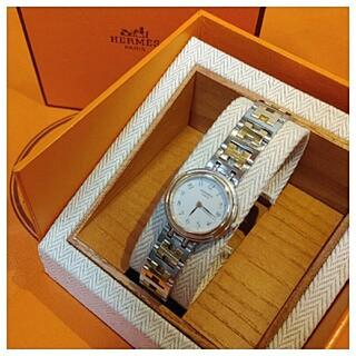 Hermes - エルメス時計 極美品 ウィンザー ・ レディース